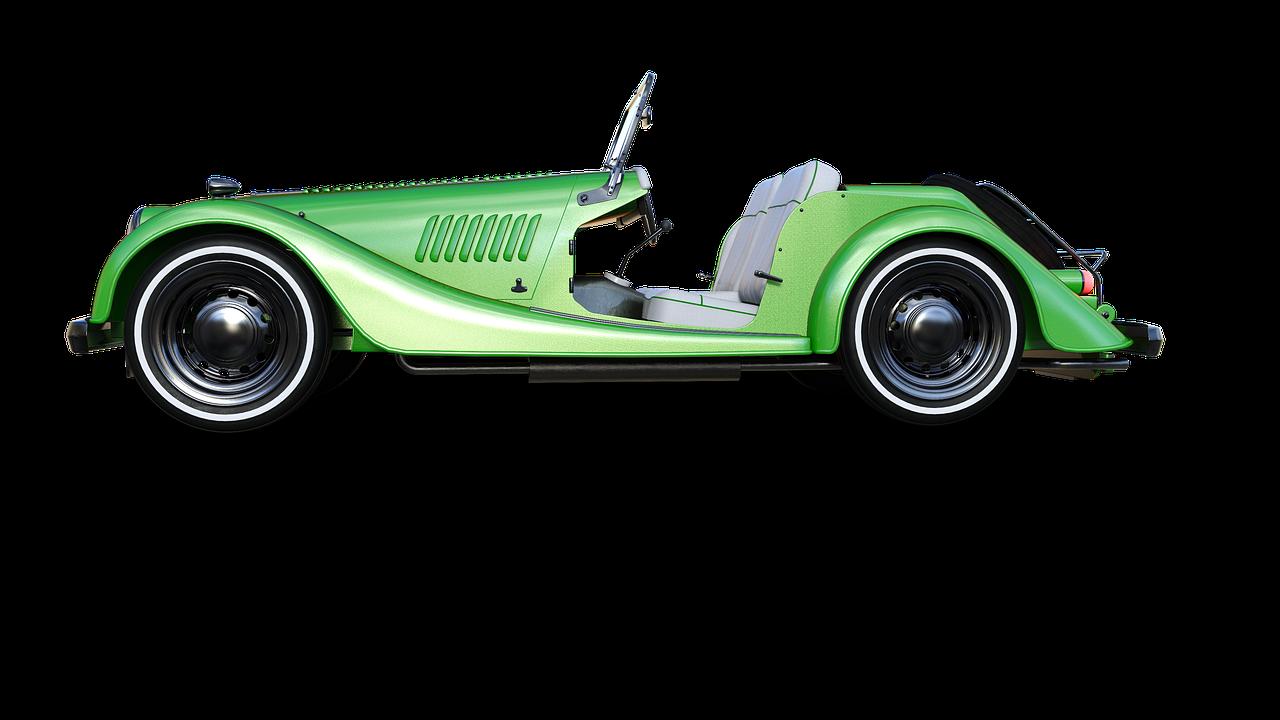 classic, car, retro